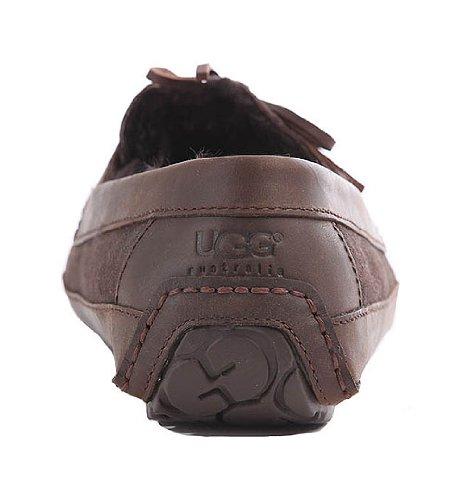 Ugg Australia Byron Daim Chaussures Pantoufles Cappuccino