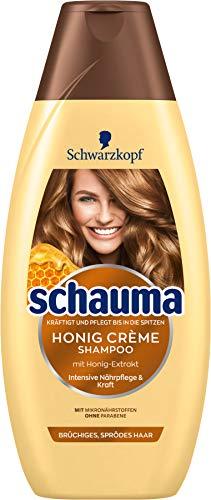 Schwarzkopf Schauma Shampoo Honig Crème, 1er Pack (1 x 400 ml)