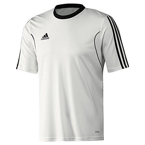 adidas Squadra 13 Trikot SS kurzarm für Kinder und Erwachsene, Größe:L;Farbe:weiß/schwarz -
