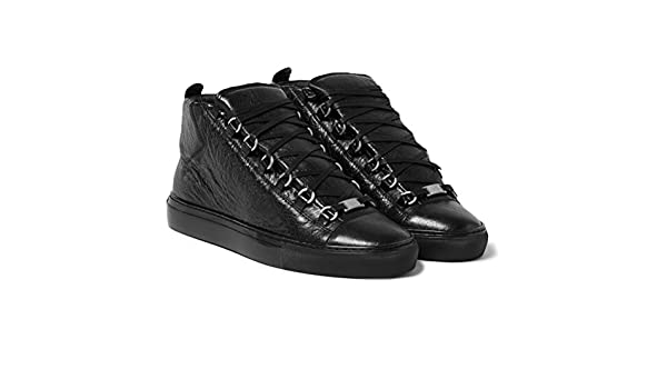 06dc1fecdb0b Balenciaga Arena Creased-Leather High Top Sneakers  Amazon.co.uk  Shoes    Bags