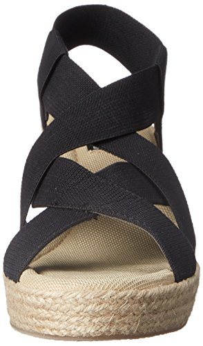 Steve Madden , Damen Sandalen Black Fabric/Solid