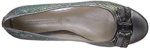 Gerry Weber Shoes  Lisa 02, Ballerines fermées, femme Gris - Gris métal (949)