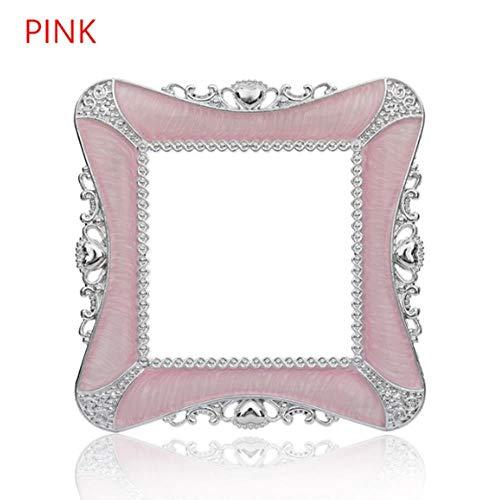 Schalter Licht Surround Sockel Griffbrett Panel Cover Home Office Dekoration Wandaufkleber Single Pink 2 -
