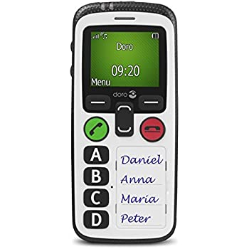 Doro Secure 580 3G SIM-Free Mobile Phone - White