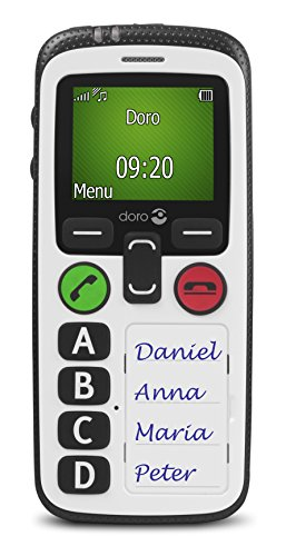 Doro 6515 Secure 580 3G SIM-Free Mobile Phone - White