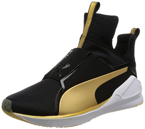 Puma Fierce Gold, Sneaker Donna, Nero (puma BLACK-GOLD 02), 6.5