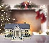Elvis Presley Graceland Musical et Lumineux Réplique House