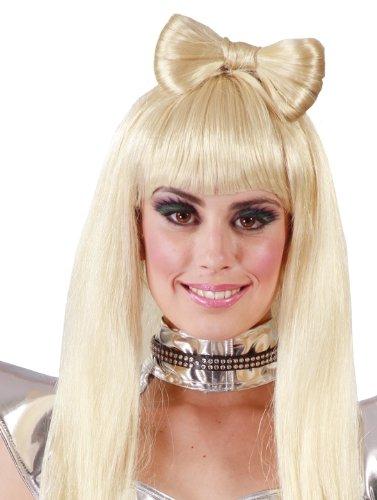 Guirca Crazy Lady Blonde Langhaar Perücke für Damen