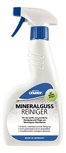 Mineralguss Reiniger | Zur Reinigung und Pflege von Mineralguss Oberflächen | 500 ml Sprühflasche