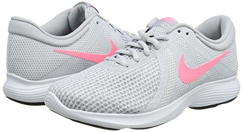 Nike Wmns Revolution 4 EU, Zapatillas de Running para Mujer, Gris, 37.5 EU