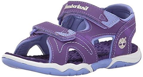 Timberland Active FTK_Adventure Seeker 2 Mädchen Sandalen, Violett (Purple With Periwinkle), 28