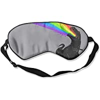 Comfortable Sleep Eyes Masks Dinosaur Rainbow Pattern Sleeping Mask For Travelling, Night Noon Nap, Mediation... preisvergleich bei billige-tabletten.eu