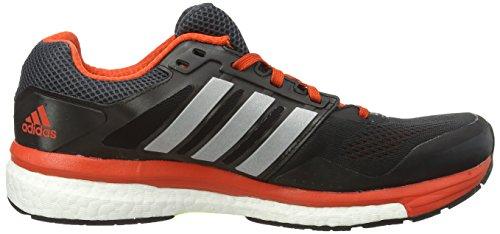adidas Supernova Glide Boost 7, Chaussures de Running Homme Gris (boo Dkgrey/sil)
