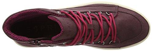 Esprit Desire Bootie, Baskets hautes femme Rouge - Rot (600 bordeaux red)