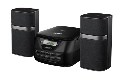 Elbe HiFi-557-USB - Micro cadena estéreo digital con MP3, CD, Aux-In, 2 x 2.5 W