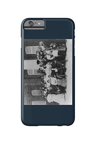 carnegie-and-tuskegee-institute-faculty-photograph-iphone-6-plus-cell-phone-case-slim-barely-there