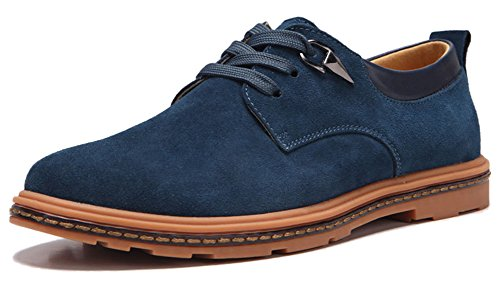 Fangsto  Shoes,  Jungen Herren SchnürHalbschuhe Blau