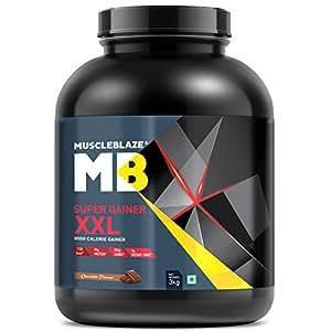 MuscleBlaze Super Gainer XXL (Chocolate, 3 kg / 6.6 lb)