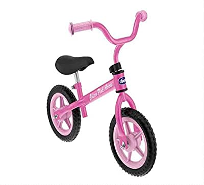 Chicco First Bike - Bicicleta sin pedales para niños de 2 a 5 años (max 25 kg, con sillín regulable)