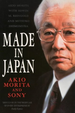 Made in Japan: Akio Morita and Sony por Akio Morita