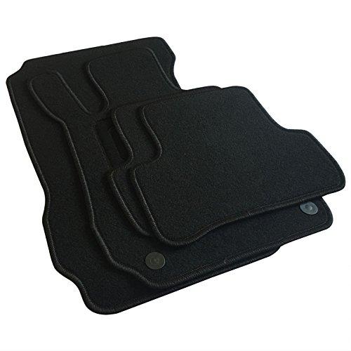 EUGAD AM7180p Autoteppich Auto Fußmatten Matten schwarz