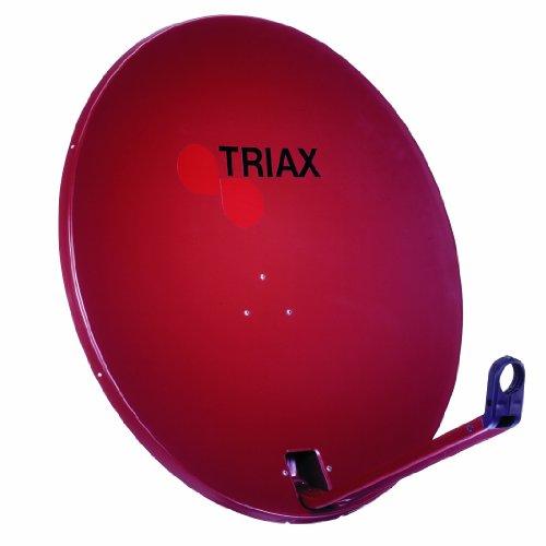 Triax TDA 64 R-1 Satelliten Außenantenne 65cm ziegelrot