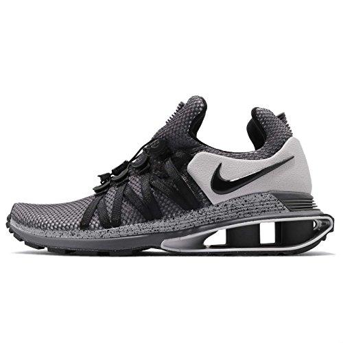NIKE Men's Shox Gravity Running Shoes Grey Black Size 9 D(M) US