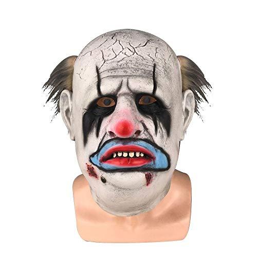 JNKDSGF HorrormaskeGame Dead by Daylight Cosplay Die Trapper Horror Punk Party Maske Halloween Stage Latex Maske Cosplay - Dead Punk Kostüm