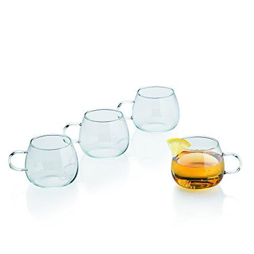 feuerzangenbowle glaeser Kela 10757 Punsch-/ Bowle-Gläser, 4 Stück, 250 ml, Ciato