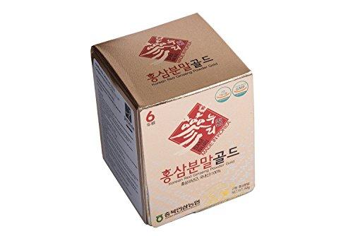 Ginseng Rosso Coreano Puro in Polvere