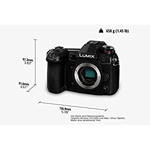 Panasonic-DMC-Lumix-G-Systemkamera-20MP-4K-6K-Foto-Bildstabilisator-OLED-Sucher-WiFi-Staub-und-Spritzwasserschutz