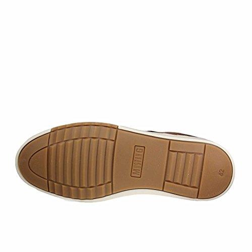 MUSTANG - Herren Halbschuhe - Braun Schuhe in Übergrößen Mittelbraun