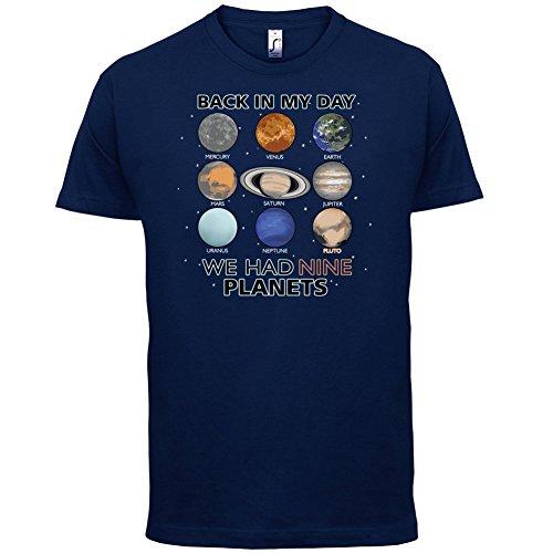 We Had Nine Planets - Herren T-Shirt - 13 Farben Navy