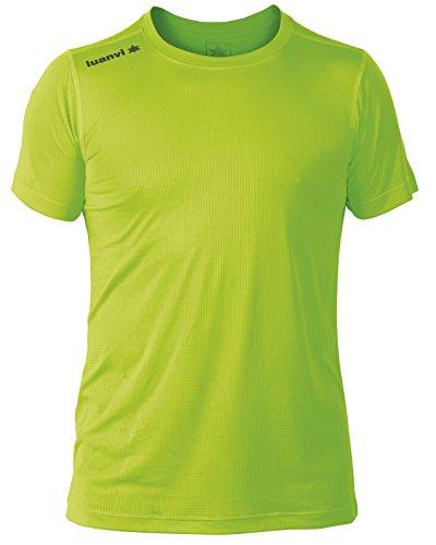 luanvi-nocaut-gama-pack-de-5-camisetas-hombre-verde-fluor-xxl