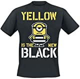 MINIONS Yellow is The New Black T-Shirt schwarz S