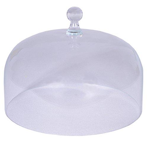 Cloche en verre exclusive - Toulouse Grand, rond - diamètre 29,5 cm