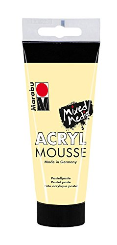 Marabu 120550222 - Acrylique Mousse Vanille, 100 ML