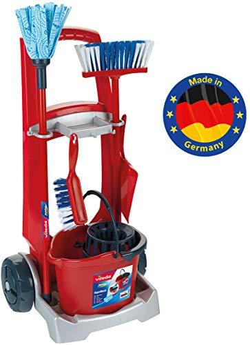 Klein - 6741 - Jeu d'imitation - Chariot de ménage Vileda avec accessoires