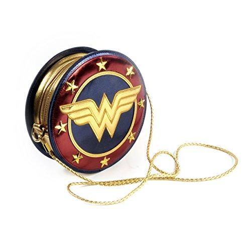 Bolso Wonder Woman Mujer Maravilla. Escudo. DC Comics