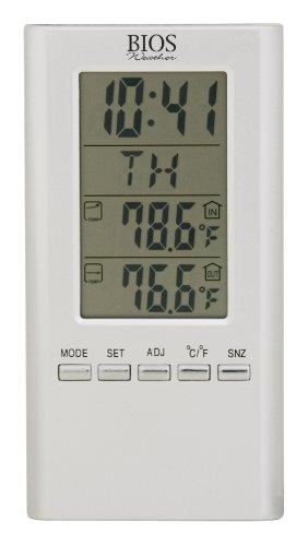 Thermor Draht-Bios Digital Thermometer (weiß, 10,8cm x 6,5x,)