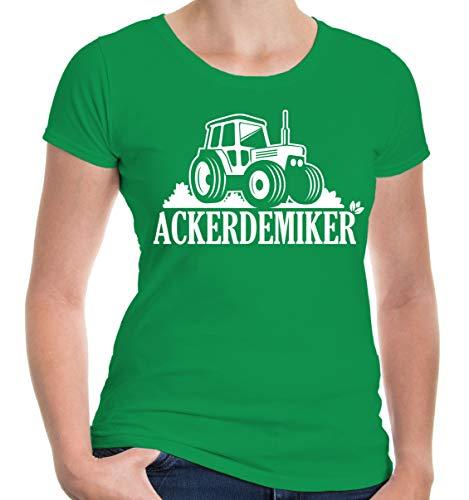 lie T-Shirt Ackerdemiker Landwirtschaft | M, Grün ()