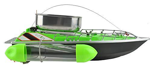Iso Trade Fishfutter Boot Ferngesteuert bis zu 300m 1,2kg Futterbehälter Komplettes Set 6050 -