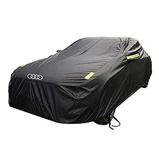 Yapin Autokleidung Autoplanen Sonnencreme Regenschutz Isolierung Dick Universal Autoplanen Sonnenschutz Bekleidung Schutzhülle Für Audi S3 Modelle Jacken Schutzkleidung