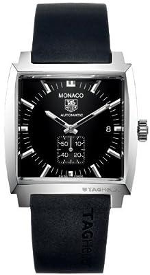 TAG Heuer - Reloj de pulsera hombre, caucho, color negro