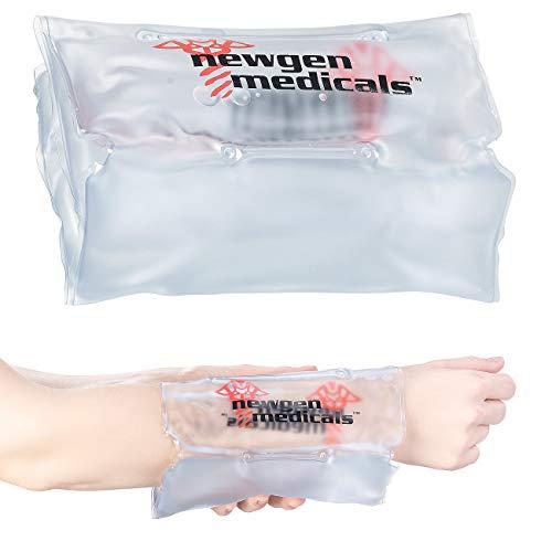 Newgen Medicals Unisex- Erwachsene NC-5169 Taschenwärmer: Wohltuende Wärmekompresse für bis zu 3.000 Anwendungen, 33 x 18 cm (Wärmepack), grau, 1