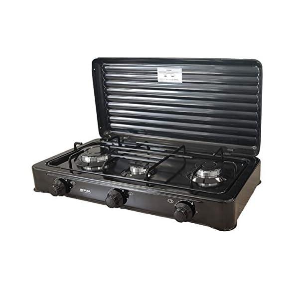 One Size MPM smile-kn-03//1kb Portable Gas Cooker Black