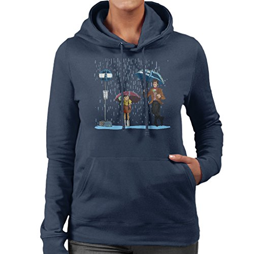 My Neighbour The Doctor Womens Hooded Sweatshirt Navy blue