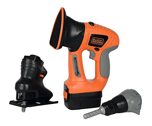 Smoby - 360102 - Outil MultiFonction - Black + Decker - EVO - 4...