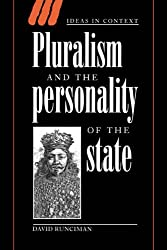 Pluralism & Personality of State (Ideas in Context)