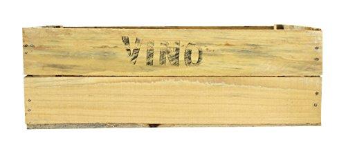 Holz-Kiste Vino 1 Stück - L